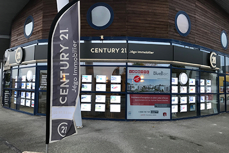 Agence immobilière CENTURY 21 Jego Immobilier, 56640 ARZON